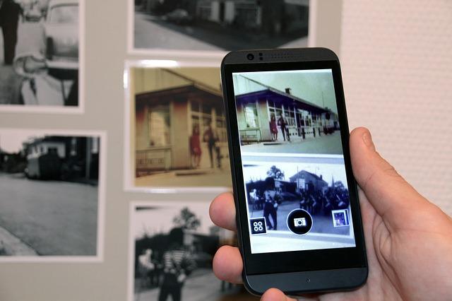 fotografie na chytrém telefonu