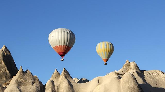 Tri nadpozemské miesta v Turecku
