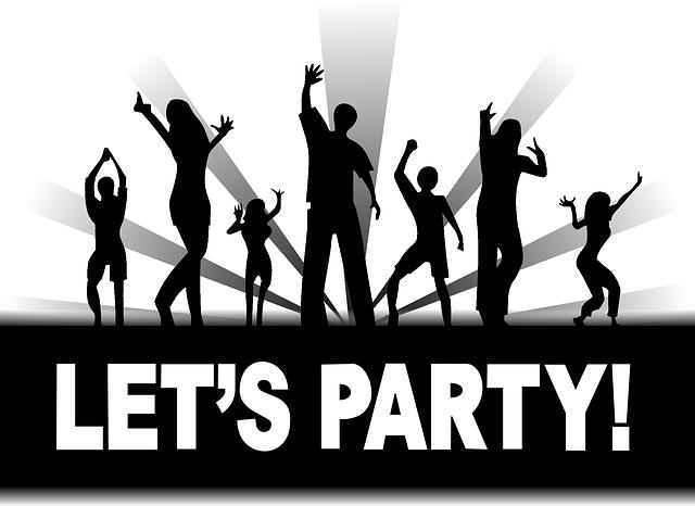 Siluety, párty